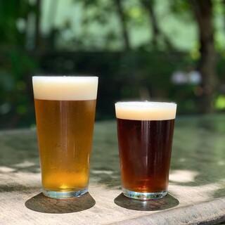 鎌倉ビールの当店オリジナルクラフトビール