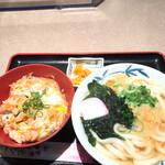 大福うどん - 親子丼セット ¥820