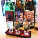 大衆酒場 クロカル - 変なラベルのお酒たち