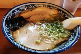 えぞ - シンプルなチャーシュー麺