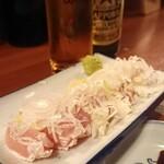 酒菜やおたふく - とりわさ ¥430