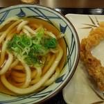 丸亀製麺 - (2012/7月-2)「かけうどん(並)(温)」