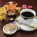 ユトリ珈琲店 - ドリンク写真:インド(モンスーン)  460円(税込)