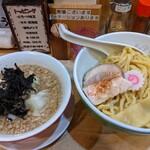 144222563 - 煮干 特製つけ麺  醤油   ¥1100