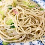 井手ちゃんぽん - スープよりも麺がボクの好み。