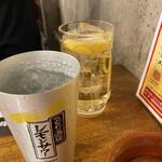 焼肉キングコング - ハイボール&レモンサワー
