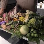 144224505 - 使う野菜のプレゼンテーション
