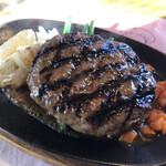 ビッグ・ジョー - 国産ら牛肉・炭火焼きハンバーグステーキ♪(320g)