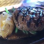 ビッグ・ジョー - 国産牛肉・炭火焼きハンバーグステーキ♪(320g)