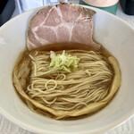 拉麺 しのざき - 料理写真:追いガツオ香る和風醤油らーめん