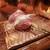 串かつ あーぼん - 料理写真:エリンギとブルーチーズ 生ハム乗せ