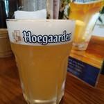 144237125 - 生ビールヒューガルデンホワイト♪