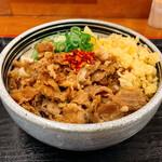 麺処 綿谷 - 肉ぶっかけあつあつ