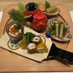 和創ふんりんかん ぎり - 料理写真:八寸