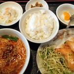 中国上海料理 豫園 - エビマヨ定食 1,290円(税別)