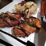 14425397 - 地鶏もも肉のオーブン焼~バルサミコソース~ \800