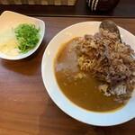 Komizu - 甘辛牛すきカレー+ねぎ