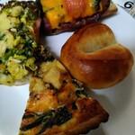 しあわせをはこぶパン - 料理写真: