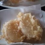 田舎うどん てつ - 天ぷら 山芋