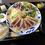 マグロバンク ウオキン - レアカツ定食
