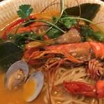 たっぷり野菜のベトナム食堂 SAIGON CAFE - 具材アップ