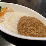 ビストロ・ポトフ - ひき肉のピリ辛カレー1,000円