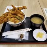 日本橋 天丼 金子半之助 - 膳。