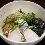 伍法 - 鶏の親子混ぜ蕎麦(温)