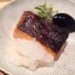 吉い - 2012.08 焼き魚は鮭♪