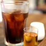 PANNACOTTA - セットのアイスコーヒー