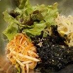 赤坂韓国料理・焼肉 兄夫食堂 - ミニビビンバセット