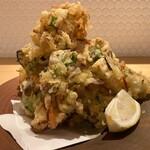 横川橋 康次郎 - 海老といろいろお野菜のかきあげ