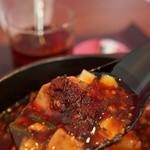 四川菜麺 紅麹屋 - 老油かけた