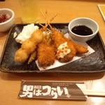 Otokohatsurai - 串カツセット