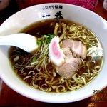 こだわり拉麺 一恭 - ラーメン(並)!(2012,08/11)