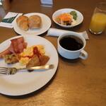 カフェレストランラベンダー - 1日目は洋食