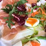 トラットリア・アルポンテ - 料理写真:少し食べてから撮っています。ごめんなさい。