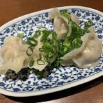 浜太郎 - セロリ水餃子