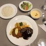 レストランあんどう - レストラン あんどう@紋別 ランチ(1400円)