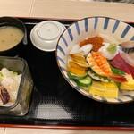 すし○ - 海鮮丼並
