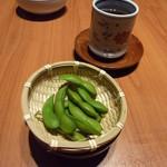 14429947 - 日本料理(夜) まずは、だだちゃ豆