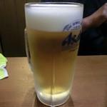 あさひ - 生ビール 450円