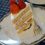 144293057 - 苺のショートケーキ・ブラン