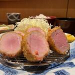 Buta inagaki - 特上ヒレかつ定食             2300円