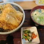 江戸家 - 料理写真:穴子天丼1000円