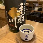 ぬる燗 ぞっこん 離れ - 手取川本流(純米大吟醸)   石川県