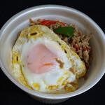 サイアム オーキッド - ガパオ(鶏ひき肉のガパオ炒めごはん)600円(税込)