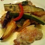 バケット - 鶏と野菜のグリル