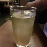 あさひ - 氷で冷やしてくれた蕎麦茶