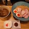 いかれたヌードル フィッシュトンズ - 料理写真:特製濃厚つけ麺1200円
